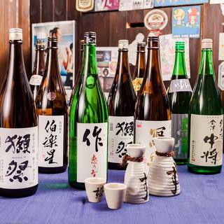 【日本酒】銘柄日本酒を25種類以上ご用意♪
