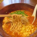 UNO - JR博多駅にほど近いマチナカイタリアン店で、トマトパスタ?スープパスタ?ならぬ トマトラーメンです♪