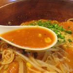 UNO - チーズを溶かしこんだ濃厚トマト系で、味噌と言われればソレ系のコクも感じます。