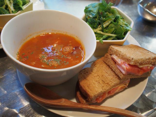 カフェ・マスミヤ - スープセット