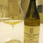 レストラン アレナ - 2007 Meursalt Perrieres Domaine des Comtes Lafon(ムルソー・ペリエール ドメーヌ・コント・ラフォン)