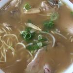 はりま - 中華そば肉入り小盛