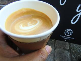 柿の木坂コーヒー - カフェラテ
