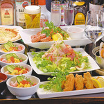 じんりきシーフードバール - 2016~17、宴会コース
