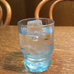 Asha - 冷たい水。       うまし。