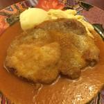 カシーヌ - 生姜ソース。フルーティな味わいです。