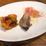 taverna la amico - ランチの前菜