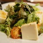 炎 - 海藻と豆腐のサラダ