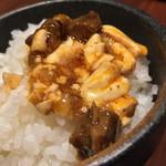A・DINING - A・DINING(エーダイニング)(東京都港区新橋1-4-5 G10ビル 5F)麻婆豆腐