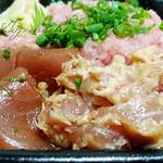 宮崎 丼丸 - シーチキンまぶし的なところアップ