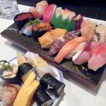 かねとも寿し - 最特上寿司(2200円)