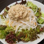 カレーハウスCoCo壱番屋 - バンバンジーと大根のサラダ 288円