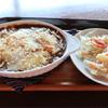 cafeうえまる - 料理写真:焼きカレー セット  1,000円