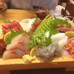 沼津魚がし鮨 - お刺身5点盛り