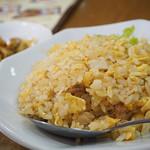 味香春 - 黒担々麺+半炒飯