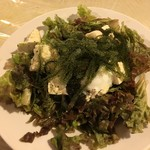 59003995 - 島豆腐と海ぶどうのサラダ