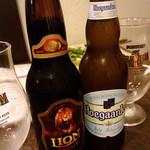 dining IOR?I - スリランカのビールもありました