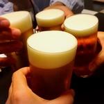 59005120 - 生ビールで乾杯♪