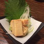 神屋流 博多道場 - 山うに豆腐 500円