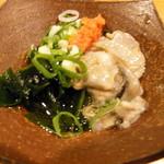 59006247 - 天然真牡蠣の柚子ポン酢