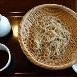 きなり - ざる蕎麦800円