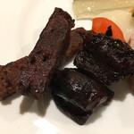 ワインレストラン ドミナス - コンビーフスティックと砂肝のコンフィ