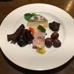 ワインレストラン ドミナス - 前菜6種盛り