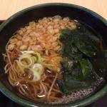 ゆで太郎 - ミニ豚丼セットの蕎麦