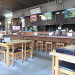 お多福うどん - お店はカウンターとテーブル席、横手にはお座敷席も用意してありました。