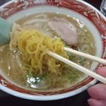 ラーメン冬冬 - 麺リフト