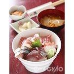 はな遊 - 海鮮丼 ランチ 750円
