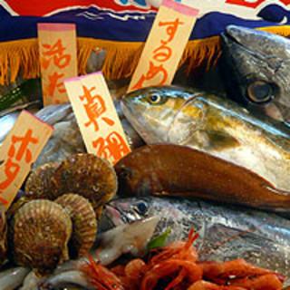 全国各地から届く新鮮な魚を、毎日みなさまに提供します!