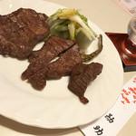 和食地酒 勘助 - 仙台牛たん焼