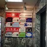 SUSHI BAR THE ƎND -縁戸- - 看板