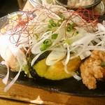 佐賀県三瀬村ふもと赤鶏 - 鶏と揚げ茄子の香味ダレ