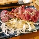 佐賀県三瀬村ふもと赤鶏 - 名物レバテキ