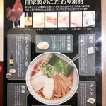 59011999 - 純鶏らーめん(紹介)