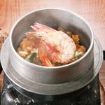 旬味和膳 季乃庄 - 海老釜飯 850円