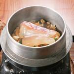 旬味和膳 季乃庄 - 鯛釜飯 850円
