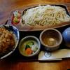 "Teuchisunaba - 料理写真:""せいろそば(大盛りサービス期間中)"" ""かき揚げ丼"""