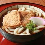 旬味和膳 季乃庄 - きつねうどん 600円