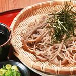 旬味和膳 季乃庄 - ざるそば 700円