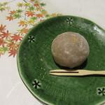ラグジュアリー和ホテル風の薫 - 夕食・・・栗饅頭