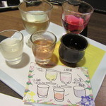 ラグジュアリー和ホテル風の薫 - 夕食・・・食前酒
