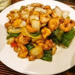 59014510 - 鶏肉とカシューナッツ炒め