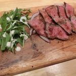 菜園バル CHIBI-CLO - 牛ハツのステーキ