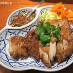 メナムのほとり - ガイヤーン1,200円+税、鶏肉の炙り焼き