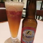 トラットリアボッソ - 九十九里オーシャンビールペールエール650円
