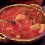 龍苑 - 豆腐チゲ