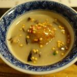そば茶寮 澤正 - 小芋の含め煮まんじゅう